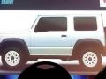 2019 Suzuki Jimny rendering side view