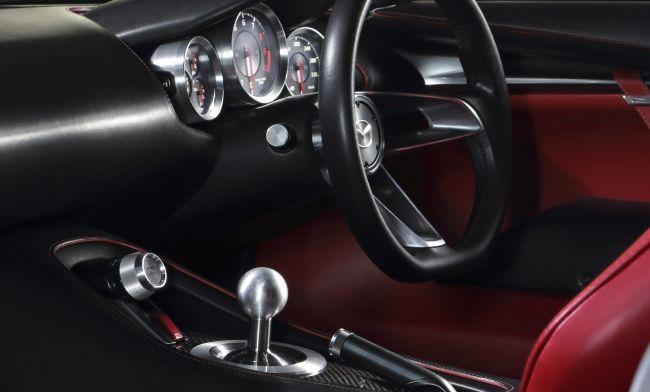 Mazda Rx 9 Dashboard