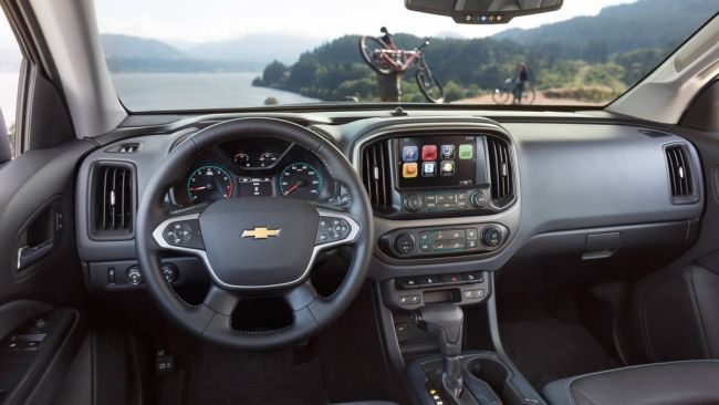 2015 Chevrolet Colorado Dashboard