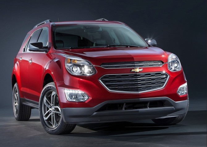 2015 Chevy Equinox Front