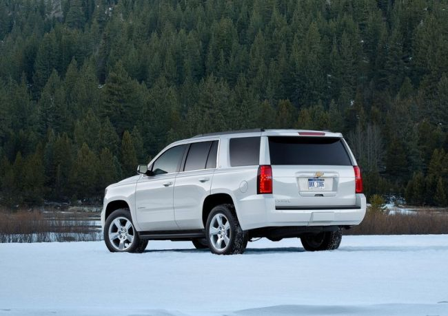 2015 Chevy Tahoe Rear Left Side