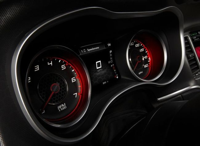 2015 Dodge Charger Control Panel