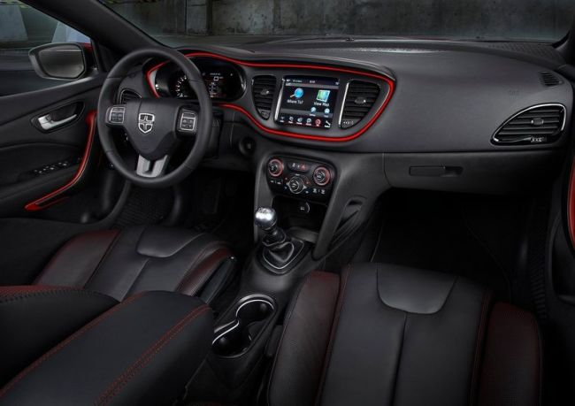 2015 Dodge Dart Dashboard