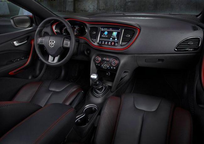 2015 Dodge Dart Dashboard