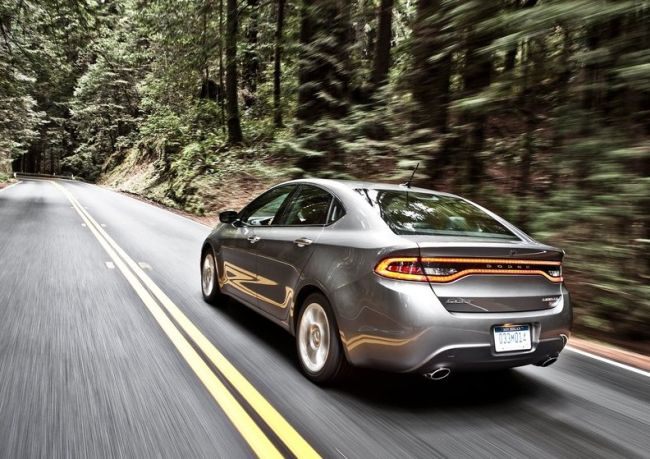 2015 Dodge Dart Rear Left Side