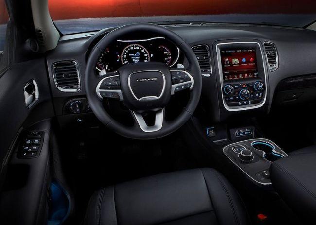 2015 Dodge Durango Dashboard