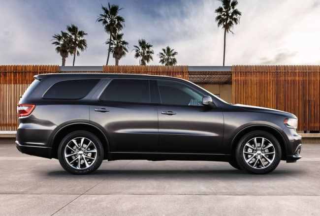 2015 Dodge Durango Side View