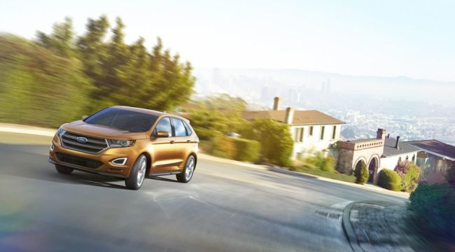 2015 Ford Edge Front left side