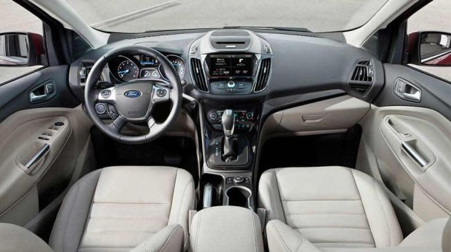 2015 Ford Escape Dashboard