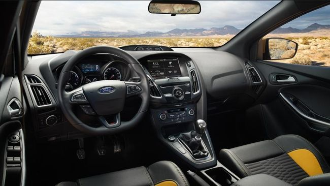 2015 Ford Focus Dashboard