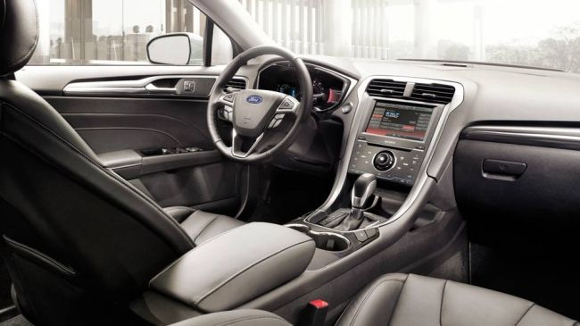 2015 Ford Fusion Dashboard