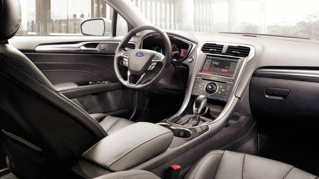 2015 Ford Fusion Dashboard
