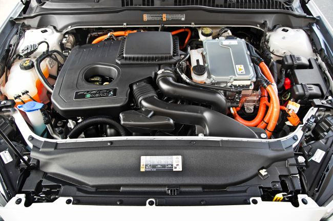 2015 Ford Fusion Engine