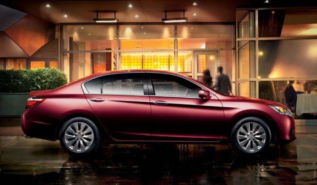 2015 Honda Accord Full Side view