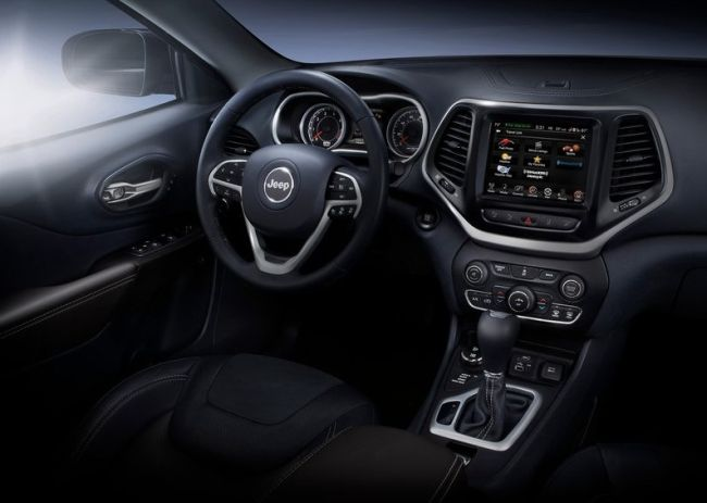 2015 Jeep Cherokee Dashboard
