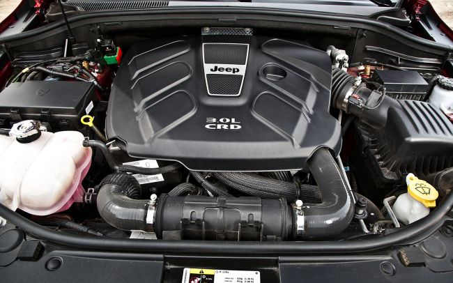 2015 Jeep Cherokee Engine