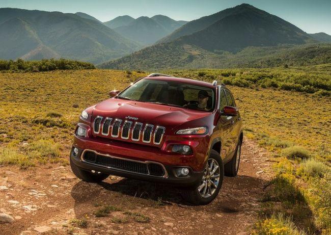 2015 Jeep Cherokee Field