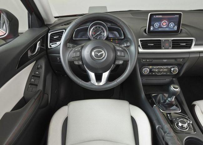 2015 Mazda 3 Dashboard