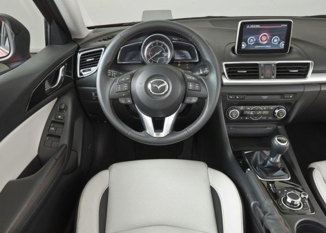 mazda 3 hatchback 2015. 2015 mazda 3 dashboard hatchback