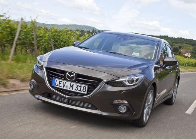 2015 Mazda 3 Full Front