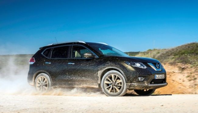 2015 Nissan X-Trail Dirty