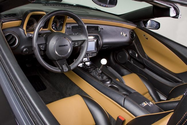 2015 Pontiac Firebird Trans Am Interior