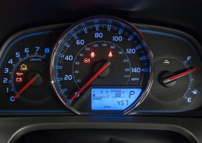 2015 Toyota RAV4 Speedmeter