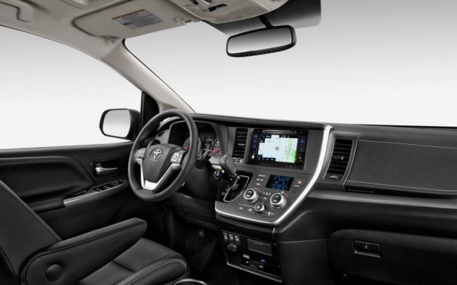 2015 Toyota Sienna Dashboard