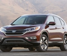 2015 Honda CR-V price and specs