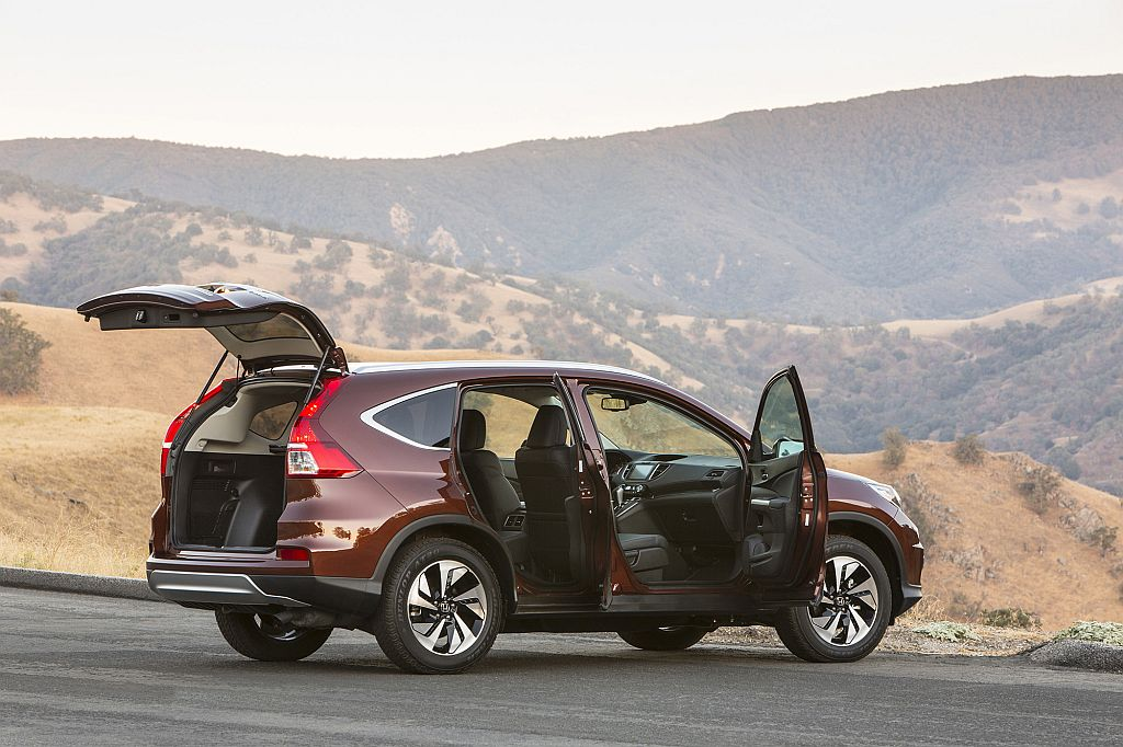 2015 Honda CRV mpg