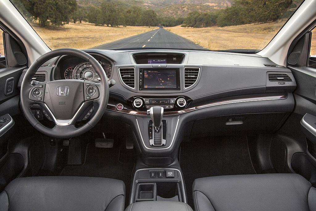 2015 Honda CRV interior