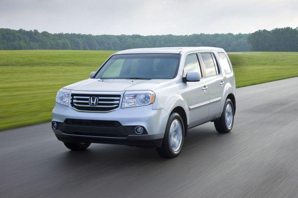 2015 Honda Pilot SUV reviews