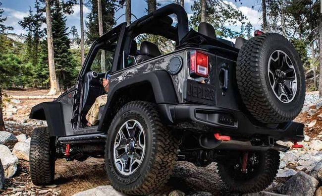 2016 Jeep Wrangler Black