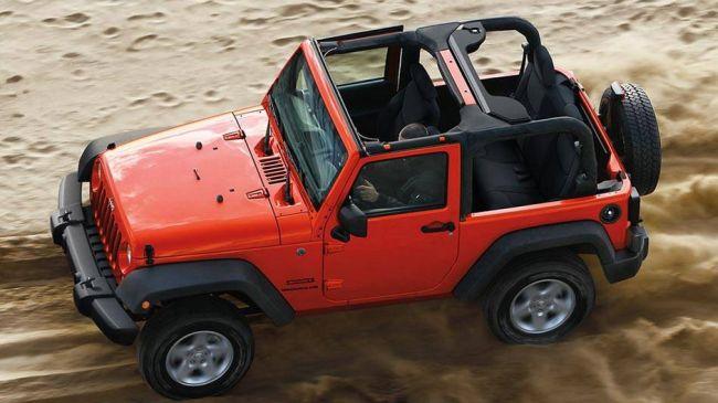 2016 Jeep Wrangler Desert