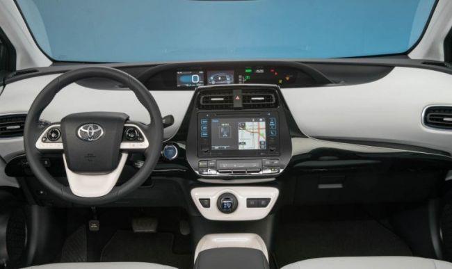 2016 Toyota Prius Dashboard