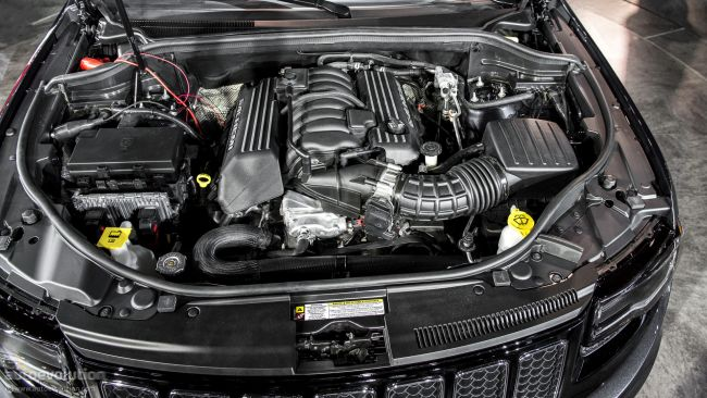 2014 Grand Cherokee SRT8 Engine