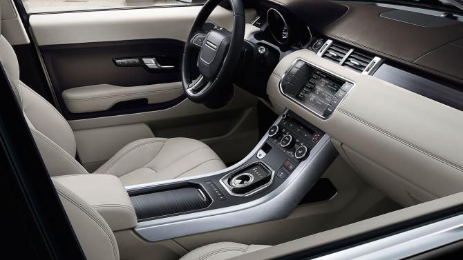 2015 Land Rover Range Rover Evoque Interior