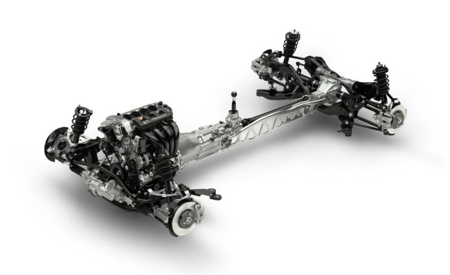2015 Mazda MX-5 Miata Engine