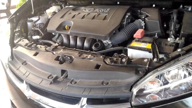 2015 Toyota Wish Engine