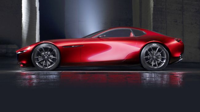 Mazda RX-9 Side View