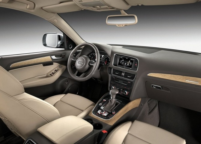 2015 Audi Q5 Dashboard