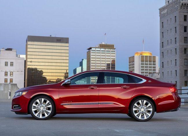 2015 Chevrolet Impala Side View