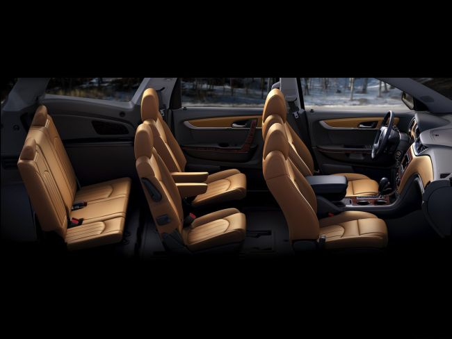 2015 Chevrolet Traverse Interior