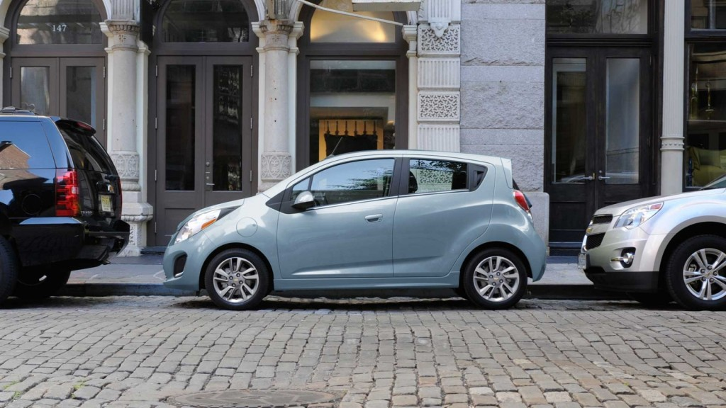 2015 Chevy Spark EV Review Accessories Colors MPG Specs HP