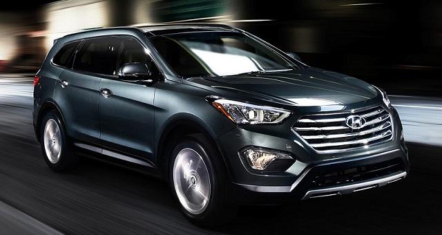 2015 Hyundai Santa Fe changes