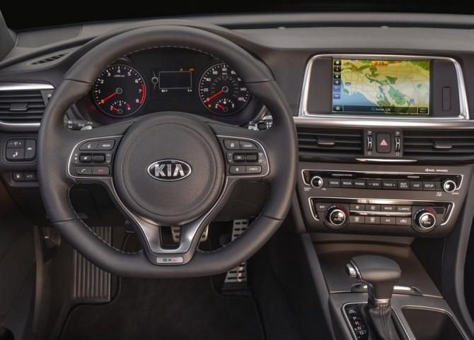 2015 Kia Optima Control Panel