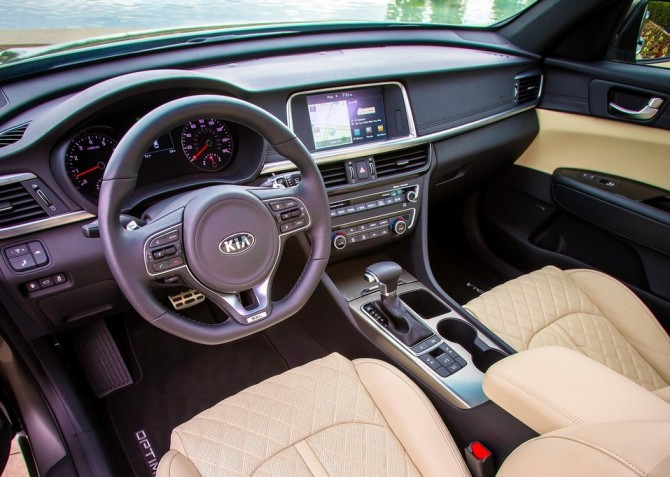 2015 Kia Optima Dashboard