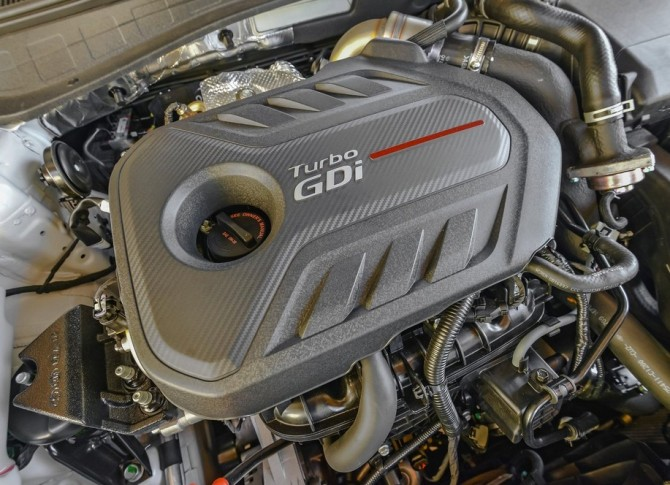 2015 Kia Optima Engine