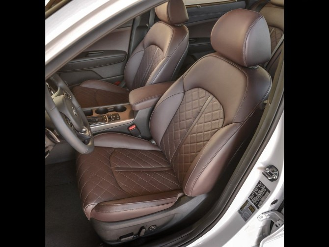 2015 Kia Optima Front Seats