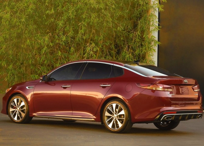 2015 Kia Optima Side View